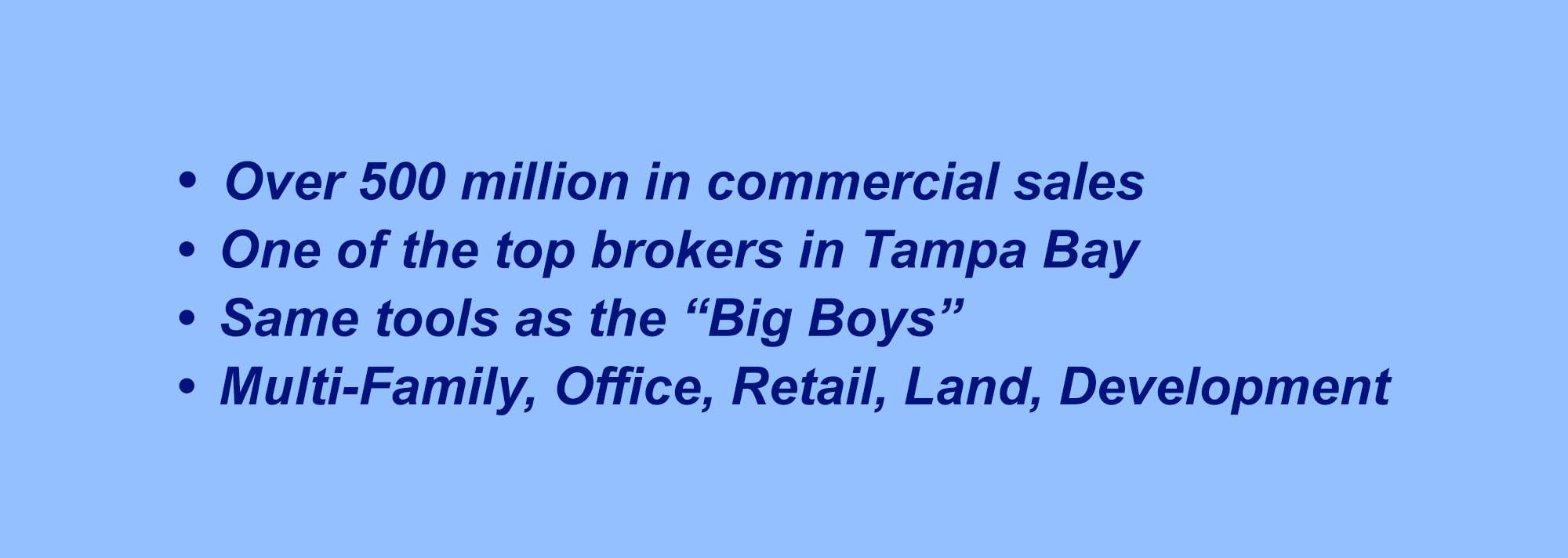 top brokers in Tampa Bay area